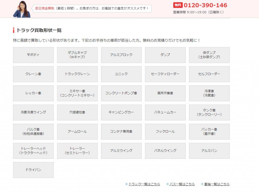 買取のキーワードで上位表示する為に量産した関連ページ